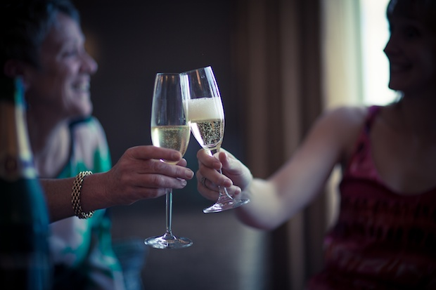 Melbourne Celebration Wedding - Champagne