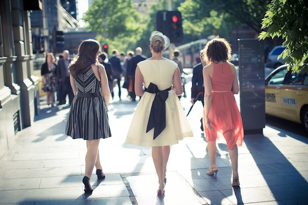 Melbourne laneways wedding
