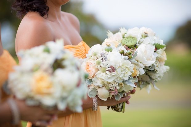 Queenscliff Wedding Bouquet - Bridesmaids
