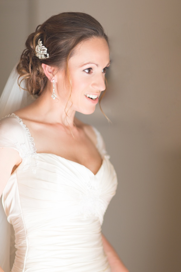 Beautiful bride - wedding portrait