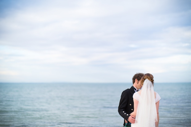 You do not see the bride or the groom ... but this is one of our favourite wedding pictures