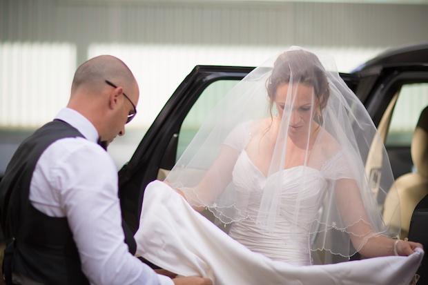 Bride is arriving - weddings on the bellarine peninsula