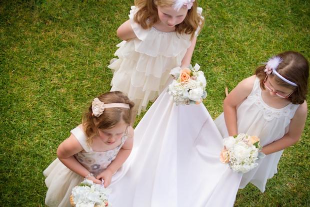 Flowergirls - Vintage - Rustic - Wedding Photography