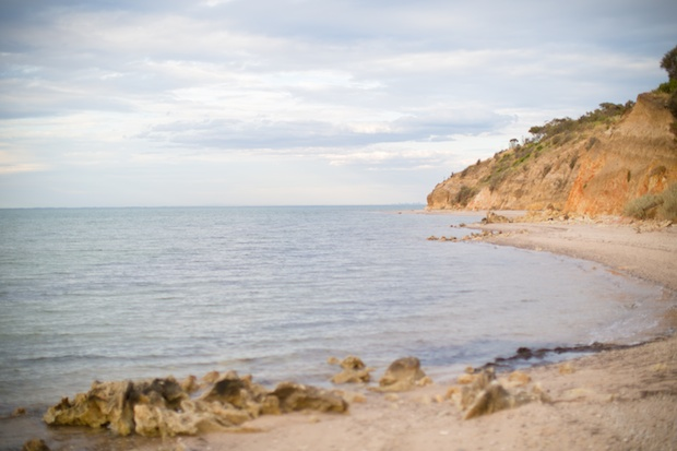 Private beach at Terindah Estate - ideal for wedding photography