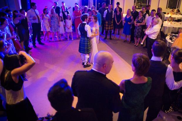 Leaving - Ending the function -Wedding circle