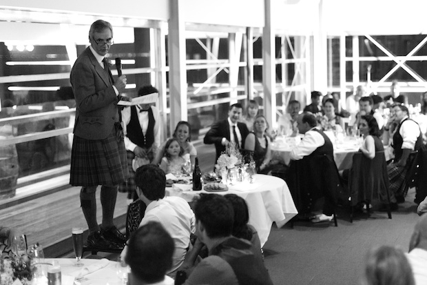 Wedding speech - Photographing the moment