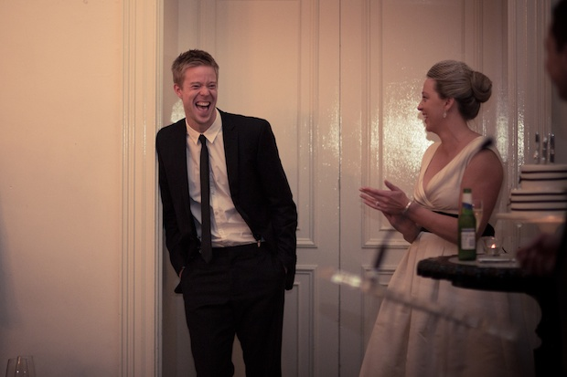 Laughing and having fun at weddings
