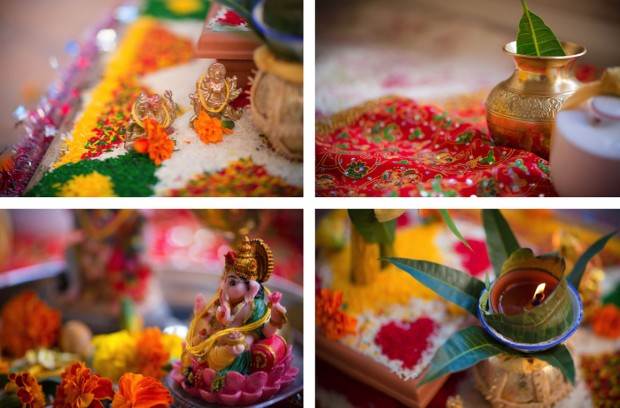 colourful indian wedding