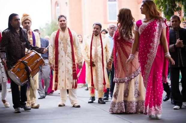 dancing - happy - indian wedding