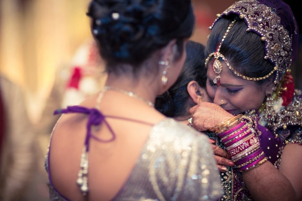 Emotion at indian wedding - tears