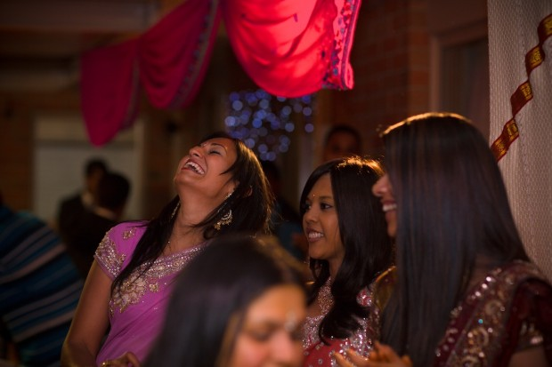 Fun and laughing at indian wedding in Melbourne