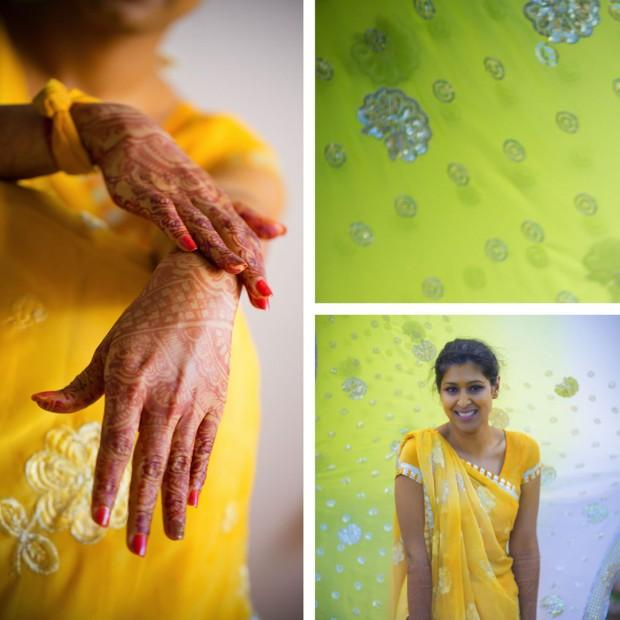 green-yellow-sari
