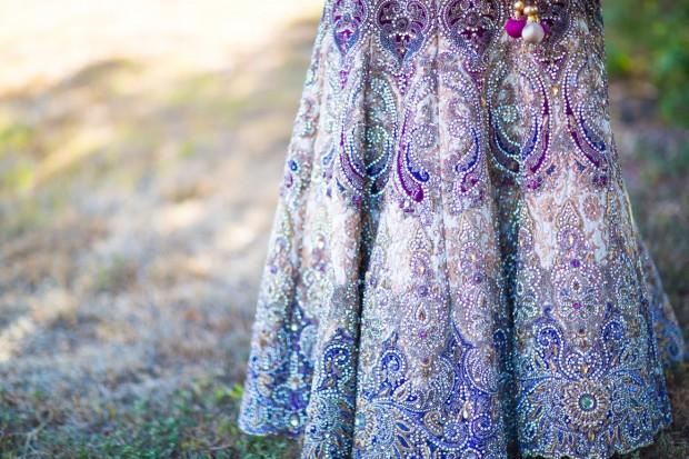 hand made indian wedding dress