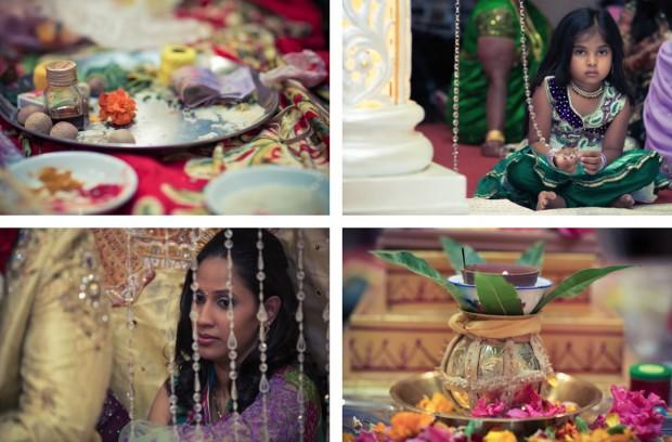 kids at indian wedding