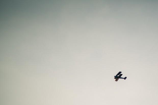 aeroplane flying over wedding - Melbourne Photography - Fine Art