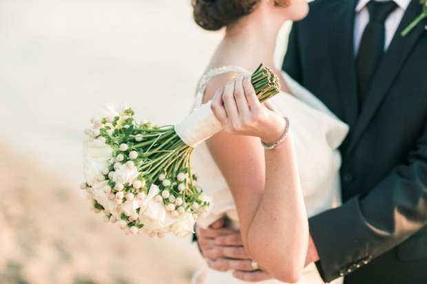 best wedding photography melbourne - Beach wedding in Black Rock / Brighton in Melbourne
