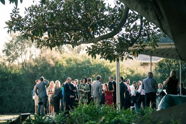 outdoor wedding ceremony in melbourne