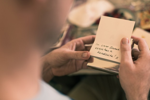 what to do when the bride gets a headache - wedding